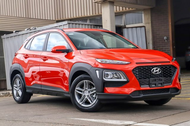 New Hyundai Kona OS.3 MY20 Active 2WD, 2019 Hyundai Kona OS.3 MY20 Active 2WD Tangerine Comet 6 Speed Sports Automatic Wagon
