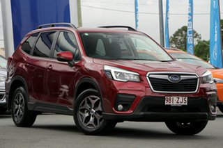 2019 Subaru Forester S5 MY20 2.5i-L CVT AWD Crimson Red 7 Speed Constant Variable Wagon.