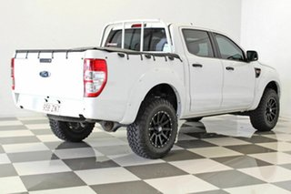 2014 Ford Ranger PX XL 2.2 Hi-Rider (4x2) White 6 Speed Automatic Crew Cab P/Up