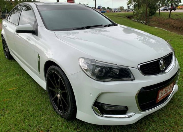 Used Holden Commodore VF II MY16 SV6, 2016 Holden Commodore VF II MY16 SV6 White 6 Speed Sports Automatic Sedan