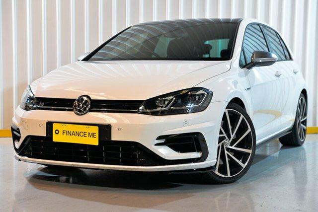 Used Volkswagen Golf 7.5 MY18 R DSG 4MOTION, 2018 Volkswagen Golf 7.5 MY18 R DSG 4MOTION White 7 Speed Sports Automatic Dual Clutch Hatchback