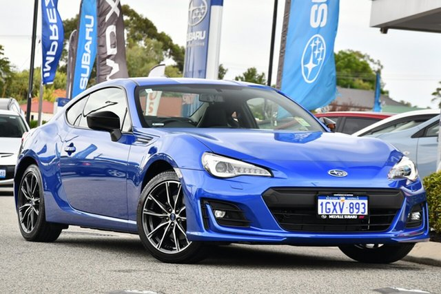 Demo Subaru BRZ Z1 MY20 Premium, 2019 Subaru BRZ Z1 MY20 Premium WR Blue 6 Speed Sports Automatic Coupe