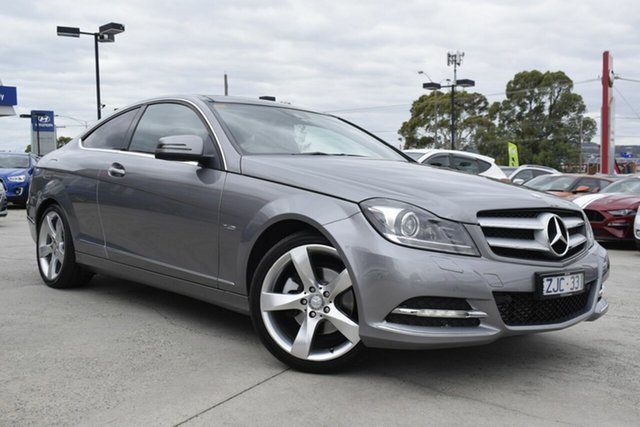 Used Mercedes-Benz C-Class C204 C250 BlueEFFICIENCY 7G-Tronic +, 2012 Mercedes-Benz C-Class C204 C250 BlueEFFICIENCY 7G-Tronic + Silver 7 Speed Sports Automatic