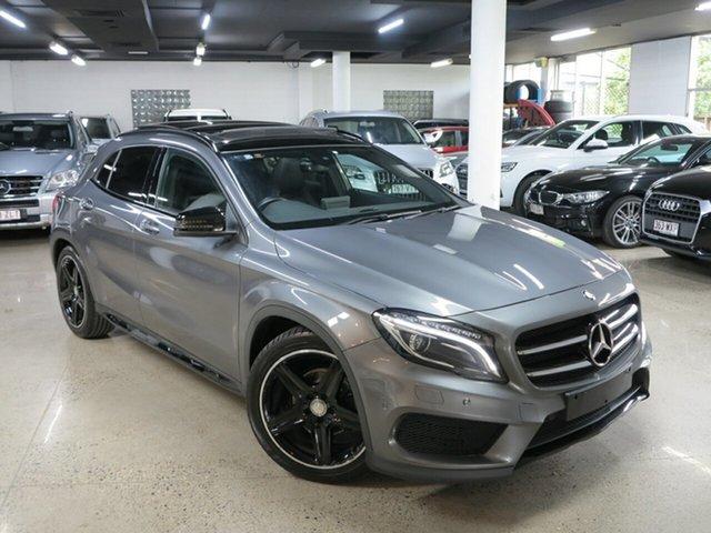 Used Mercedes-Benz GLA-Class X156 806MY GLA180 DCT, 2015 Mercedes-Benz GLA-Class X156 806MY GLA180 DCT Mountain Grey 7 Speed