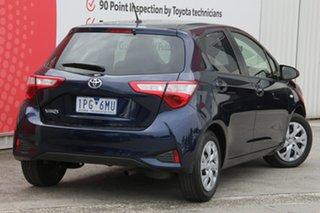 2019 Toyota Yaris NCP131R SX Dynamic Blue 4 Speed Automatic Hatchback.