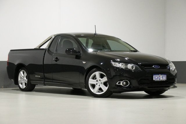 Used Ford Falcon FG MK2 XR6, 2012 Ford Falcon FG MK2 XR6 Black 6 Speed Auto Seq Sportshift Utility