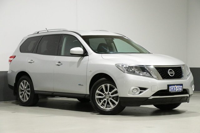 Demo Nissan Pathfinder R52 MY15 Upgrade ST Hybrid (4x2), 2016 Nissan Pathfinder R52 MY15 Upgrade ST Hybrid (4x2) Silver Continuous Variable Wagon