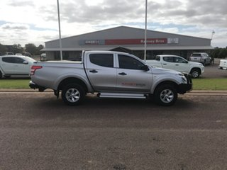 2016 Mitsubishi Triton MQ MY17 GLX Plus (4x4) Stirling Silver 5 Speed Automatic Dual Cab Utility