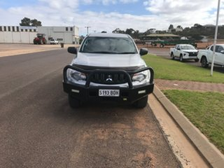 2016 Mitsubishi Triton MQ MY17 GLX Plus (4x4) Stirling Silver 5 Speed Automatic Dual Cab Utility.
