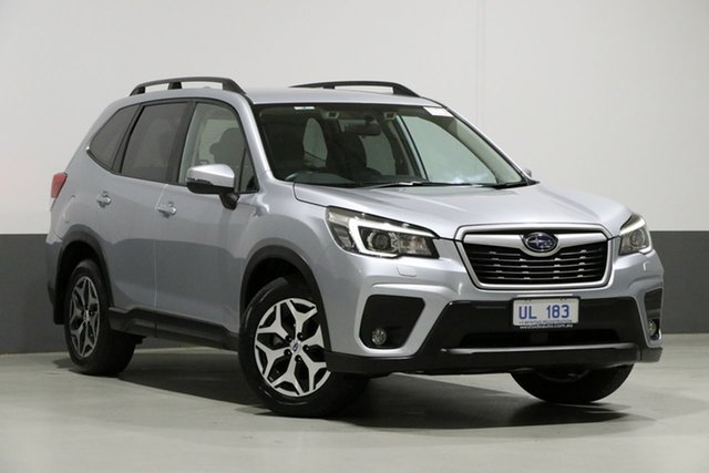 Used Subaru Forester MY19 2.5I-L (AWD), 2018 Subaru Forester MY19 2.5I-L (AWD) Ice Silver Continuous Variable Wagon