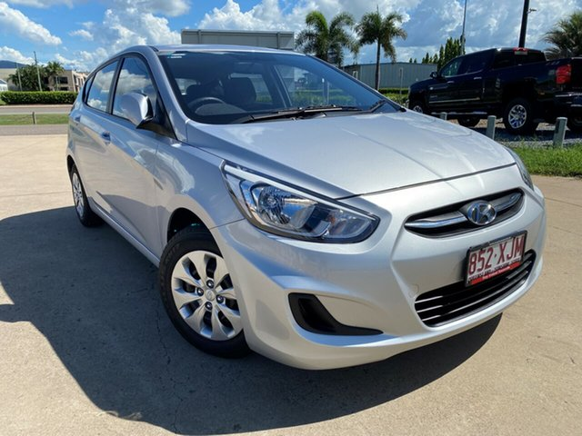 Used Hyundai Accent RB4 MY17 Active, 2017 Hyundai Accent RB4 MY17 Active Silver 6 Speed Constant Variable Hatchback