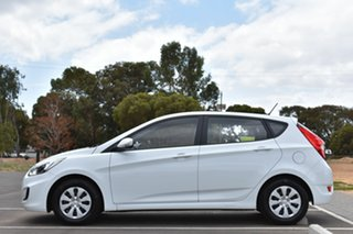 2016 Hyundai Accent RB4 MY17 SR White 6 Speed Sports Automatic Hatchback
