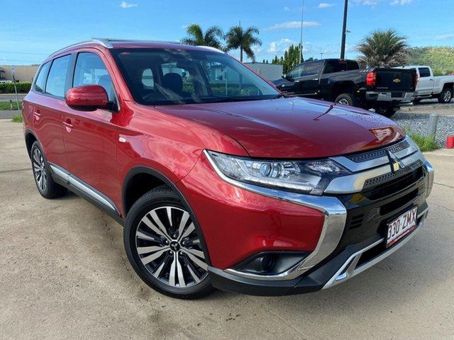 Used Mitsubishi Outlander ZL MY18.5 LS 2WD, 2018 Mitsubishi Outlander ZL MY18.5 LS 2WD Red 6 Speed Constant Variable Wagon