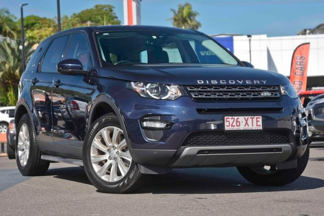 Used Land Rover Discovery Sport L550 15MY SD4 SE, 2015 Land Rover Discovery Sport L550 15MY SD4 SE Blue 9 Speed Sports Automatic Wagon