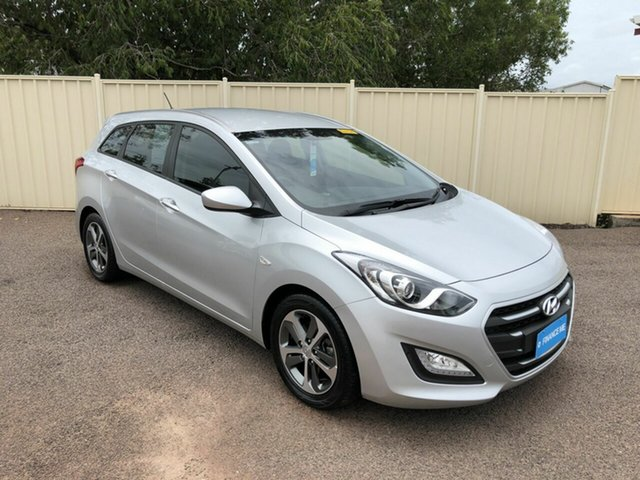 Used Hyundai i30 GD Active Tourer, 2015 Hyundai i30 GD Active Tourer Silver 6 Speed Sports Automatic Wagon