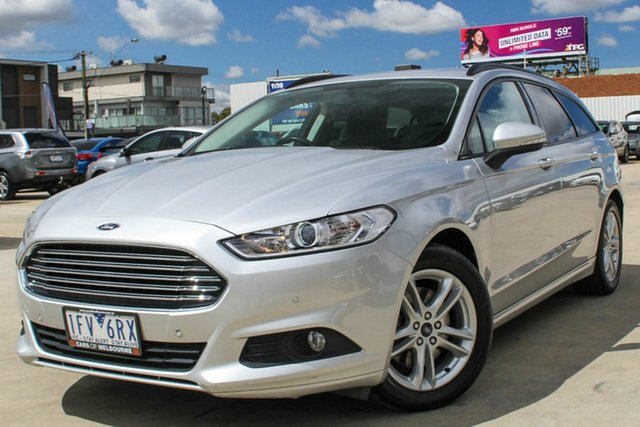 Used Ford Mondeo MD Ambiente PwrShift, 2015 Ford Mondeo MD Ambiente PwrShift Silver 6 Speed Sports Automatic Dual Clutch Wagon