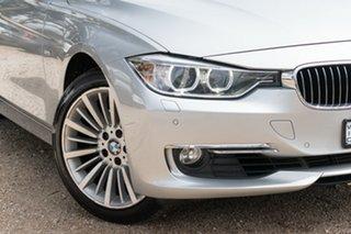 2012 BMW 3 Series F30 MY0812 328i Silver 8 Speed Sports Automatic Sedan.