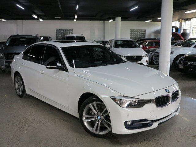 Used BMW 3 Series F30 MY1114 328i Sport Line, 2014 BMW 3 Series F30 MY1114 328i Sport Line Alpine White 8 Speed Sports Automatic Sedan