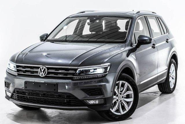 Used Volkswagen Tiguan 5N MY19 132TSI DSG 4MOTION Comfortline, 2018 Volkswagen Tiguan 5N MY19 132TSI DSG 4MOTION Comfortline Grey 7 Speed