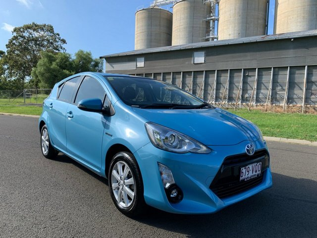 Used Toyota Prius c NHP10R MY15 I-Tech Hybrid, 2015 Toyota Prius c NHP10R MY15 I-Tech Hybrid Aura Continuous Variable Hatchback
