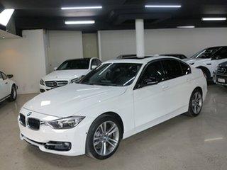 2014 BMW 3 Series F30 MY1114 328i Sport Line Alpine White 8 Speed Sports Automatic Sedan.