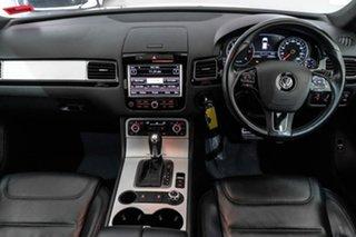 2012 Volkswagen Touareg 7P MY12.5 V6 TDI Tiptronic 4MOTION Silver 8 Speed Sports Automatic Wagon.