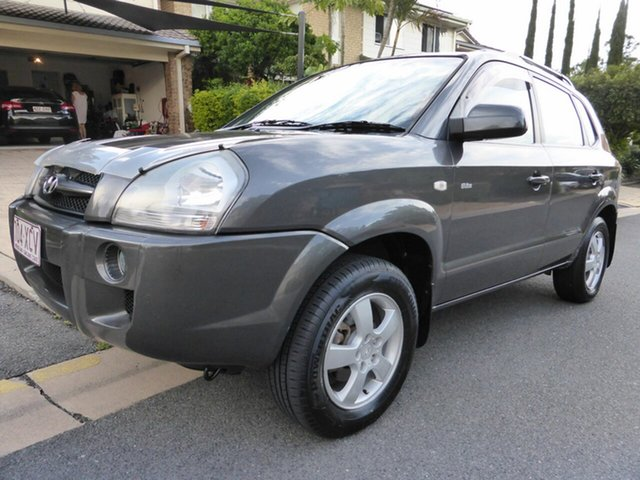 Used Hyundai Tucson MY07 City Elite, 2007 Hyundai Tucson MY07 City Elite Grey 4 Speed Automatic Wagon