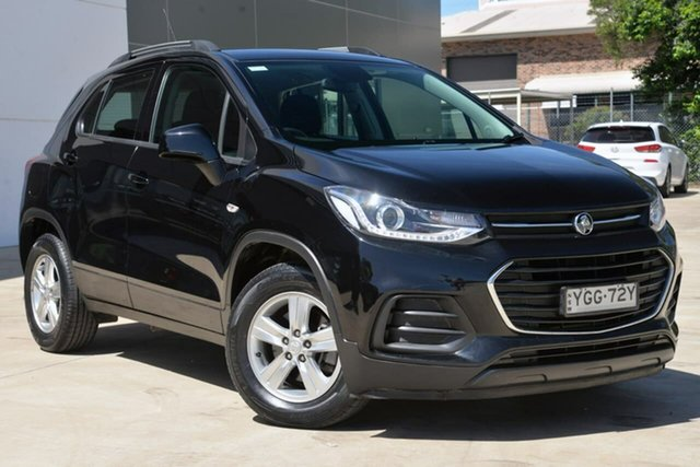 Used Holden Trax TJ MY17 LS, 2017 Holden Trax TJ MY17 LS Black 6 Speed Automatic Wagon