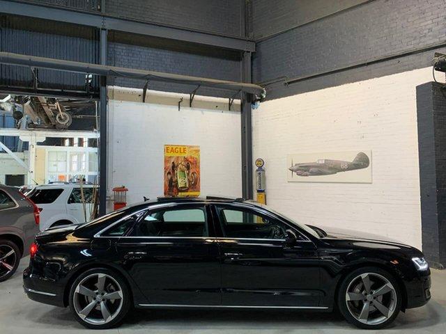 Used Audi A8 4H MY18 L LWB Tiptronic Quattro, 2017 Audi A8 4H MY18 L LWB Tiptronic Quattro Black 8 Speed Sports Automatic Sedan