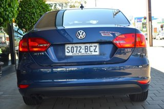 2014 Volkswagen Jetta 1B MY15 118TSI DSG Highline Blue 7 Speed Sports Automatic Dual Clutch Sedan