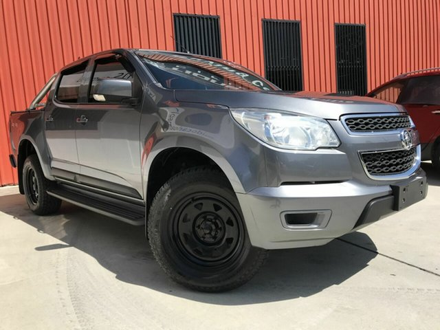 Used Holden Colorado RG MY15 LS Crew Cab, 2015 Holden Colorado RG MY15 LS Crew Cab Grey 6 Speed Sports Automatic Utility