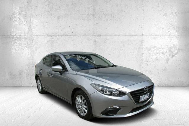 Used Mazda 3 BM5278 Maxx SKYACTIV-Drive, 2014 Mazda 3 BM5278 Maxx SKYACTIV-Drive Silver 6 Speed Sports Automatic Sedan