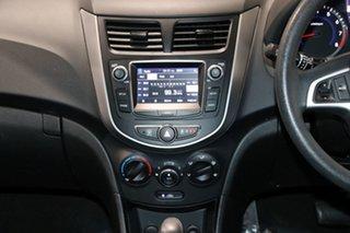 2017 Hyundai Accent RB4 MY17 Active White 6 Speed CVT Auto Sequential Hatchback