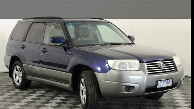 Used Subaru Forester 79V MY06 X AWD Luxury, 2006 Subaru Forester 79V MY06 X AWD Luxury Blue 5 Speed Manual Wagon