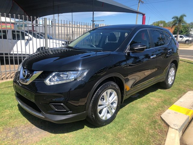 Used Nissan X-Trail T32 ST (4x4), 2015 Nissan X-Trail T32 ST (4x4) Black Continuous Variable Wagon