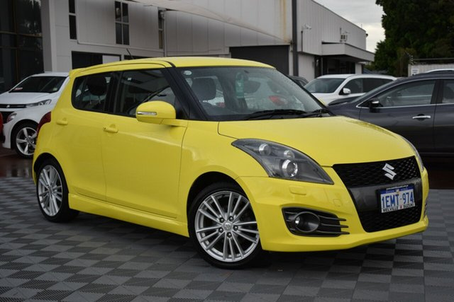 Used Suzuki Swift FZ Sport, 2013 Suzuki Swift FZ Sport Yellow 7 Speed Constant Variable Hatchback