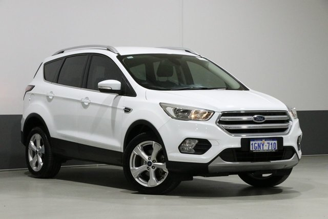 Used Ford Escape ZG MY18 Trend (FWD), 2018 Ford Escape ZG MY18 Trend (FWD) White 6 Speed Automatic Wagon