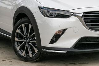 2019 Mazda CX-3 DK2W7A Akari SKYACTIV-Drive FWD Snowflake White Pearl 6 Speed Sports Automatic Wagon.