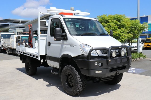 Used Iveco Daily MY14 55S17W (4x4) (WB3400), 2015 Iveco Daily MY14 55S17W (4x4) (WB3400) White 6 speed Manual Cab Chassis