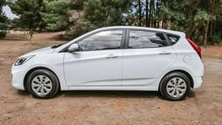 2015 Hyundai Accent RB3 MY16 Active White 6 Speed Constant Variable Hatchback