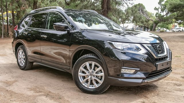 Used Nissan X-Trail T32 Series II ST-L X-tronic 2WD, 2018 Nissan X-Trail T32 Series II ST-L X-tronic 2WD Black 7 Speed Constant Variable Wagon