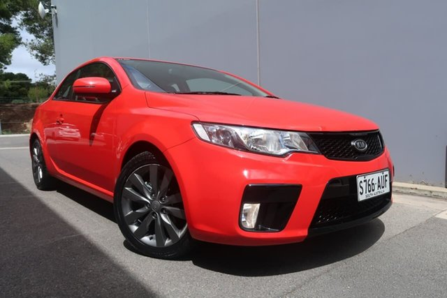 Used Kia Cerato TD MY13 Koup SI, 2012 Kia Cerato TD MY13 Koup SI Red 6 Speed Sports Automatic Coupe