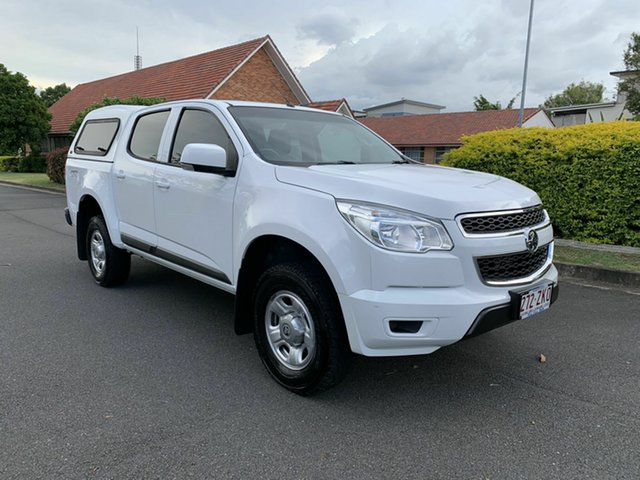 Used Holden Colorado RG LS, 2016 Holden Colorado RG LS White 6 Speed Automatic Dual Cab