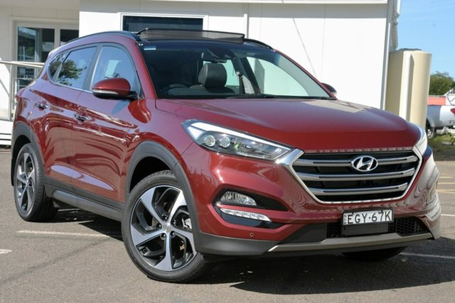 Used Hyundai Tucson TLE Highlander AWD, 2015 Hyundai Tucson TLE Highlander AWD Red 6 Speed Sports Automatic Wagon
