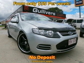 2012 Ford Falcon FG XT Silver Sedan.