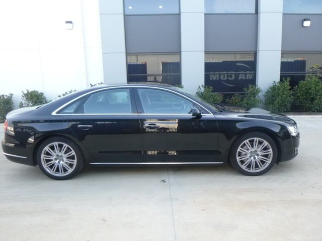 Used Audi A8 D4 Beverley, 2015 Audi A8 D4 Black Sports Automatic Sedan