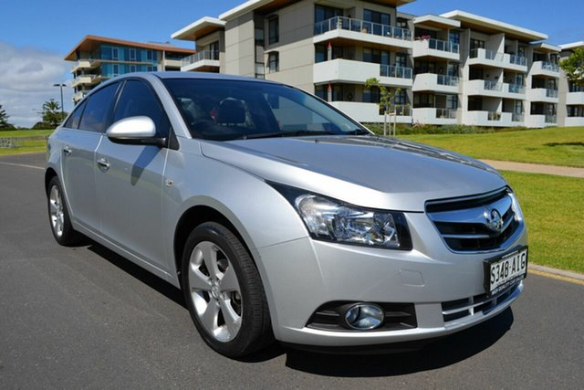 Used Holden Cruze JG CDX, 2010 Holden Cruze JG CDX Silver 6 Speed Sports Automatic Sedan