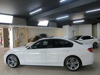 2014 BMW 3 Series F30 MY1114 328i Sport Line Alpine White 8 Speed Sports Automatic Sedan
