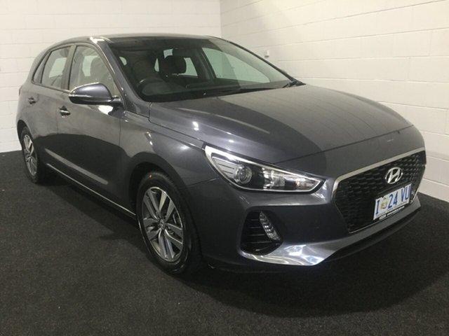 Used Hyundai i30 PD MY18 Active, 2018 Hyundai i30 PD MY18 Active Grey 6 Speed Sports Automatic Hatchback