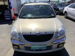 2002 Daihatsu Sirion M100RS Bianca White 5 Speed Manual Hatchback